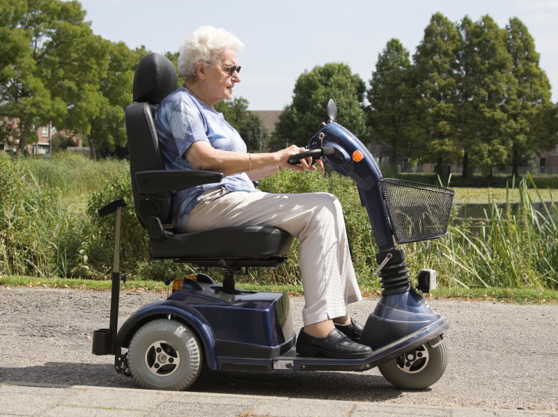 Emr aware newsletter march 2015 for Motorized scooters for the elderly